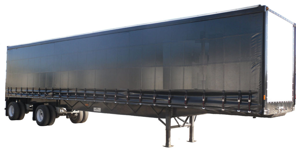 Steel Flatbed Trailer w Rolling tarp from Transworld Equipment